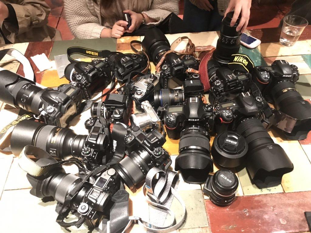 Nikon大集合