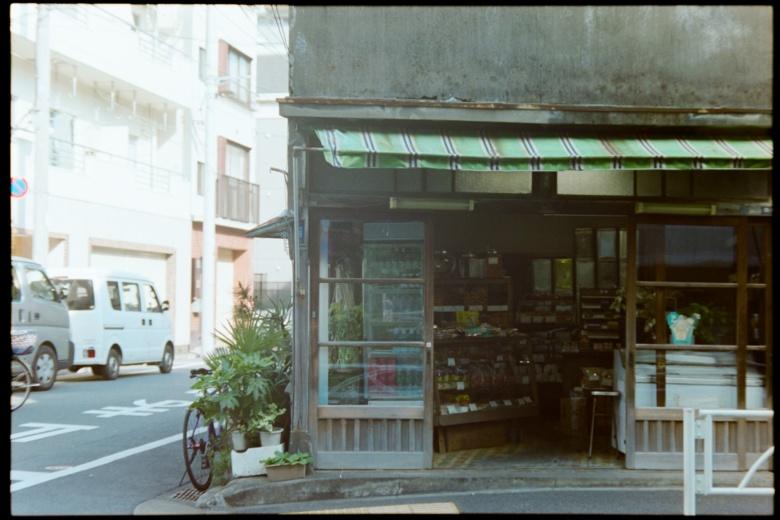 フィルムの似合う店